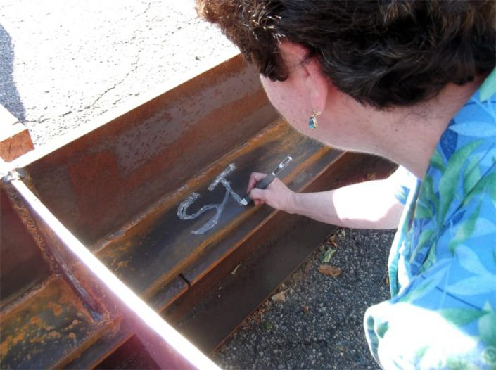 keel signing by sponsor Susan Turney